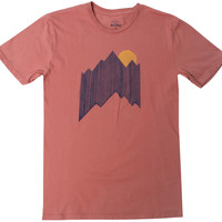 Altru Apparel Mountain Lines Tee (Only Size XL)