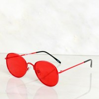 Statement Sunglasses Red