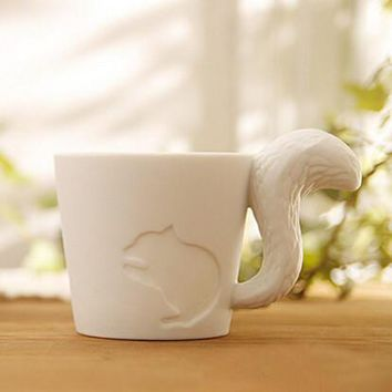 candle cups coffee mug animal random 2