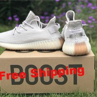 "[ Free  Shipping ] Adidas Yeezy 350 Boost V2 ""Sesame "" Running Sneaker"