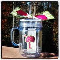 Palmetto Acrylic Mason Jar Tumbler from Sassy by Sacha