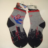 2 Pairs Socks - Spiderman Spider-Man 3 for Boys
