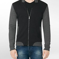 colorblock v-neck bomber jacket | Calvin Klein