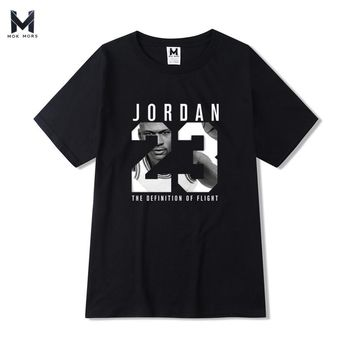 JORDAN 23 Mens T-shirt Year Of Birth Vampire Diaries Mystic Falls Tops Graphic Tee Shirts
