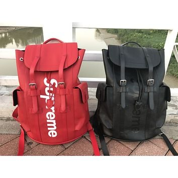Hot Deal Stylish Comfort College On Sale Back To School Casual Red Backpack [11359846727]