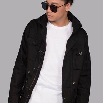 Military Field Jacket (Black)