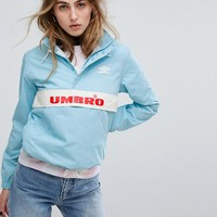 Umbro Retro Sporty Half Zip Front Tracksuit Jacket at asos.com