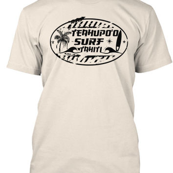 Men's Teahupo'o Surf Tahiti Shirt