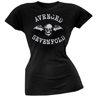 Avenged Sevenfold - Classic Deathbat Juniors T-Shirt
