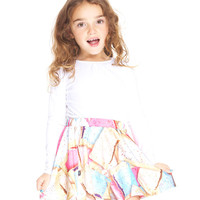 Kids Toaster Party Skater Skirt