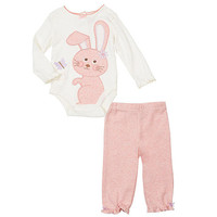 Babies R Us Girls' 2 Piece Bodysuit Set