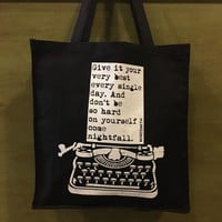 Wrdsmth - Nightfall Tote