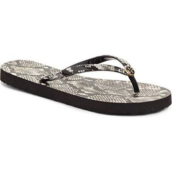 Tory Burch Flip Flops Shoes Sandals Flat Rubber NEW