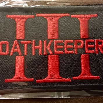 Three Percenter Oathkeeper Tactical Patch