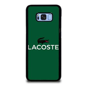 LACOSTE Logo Samsung Galaxy S8 Plus Case Cover
