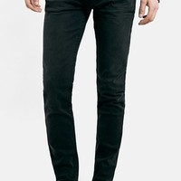 Men's Topman Washed Stretch Skinny Fit Jeans ,