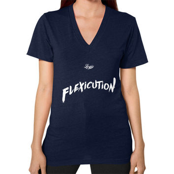 Flexicution Logic V-Neck (on woman) Shirt
