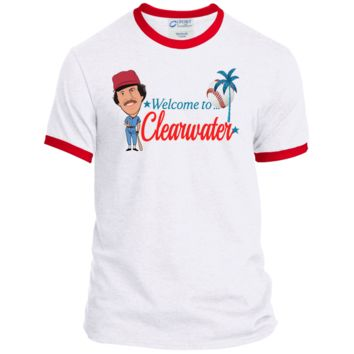 Welcome to Clearwater Mens Ringer Tee