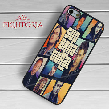 Supernatural Collage Art - zzZzz for  iPhone 6S case, iPhone 5s case, iPhone 6 case, iPhone 4S, Samsung S6 Edge