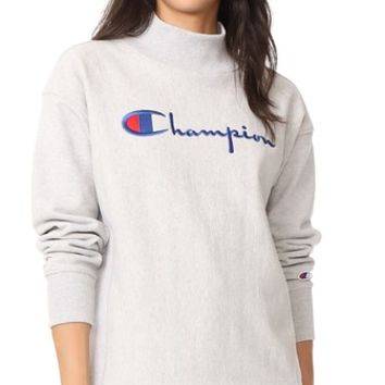 Polo Neck Sweatshirt