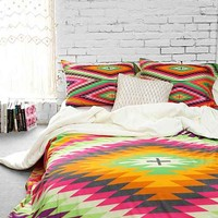 Holli Zollinger For DENY Kilimi Duvet Cover- Multi