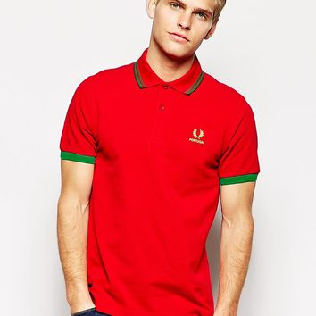 Fred Perry Tournament Polo Shirt - Portugal