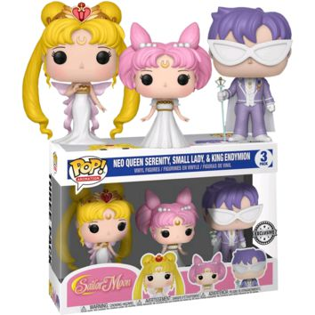 Pop! Sailor Moon - Serenity, Endy, Rini 3-Pack Exclusive