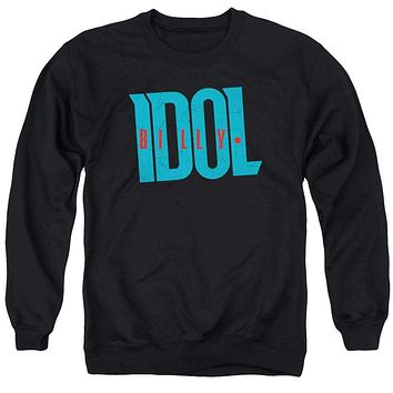 Billy Idol Logo Sweatshirt