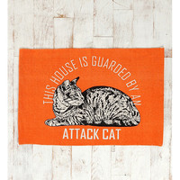 Attack Cat Rug - Urban Outfitters
