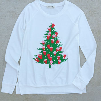 Sleigh All Day Holiday Sweatshirt