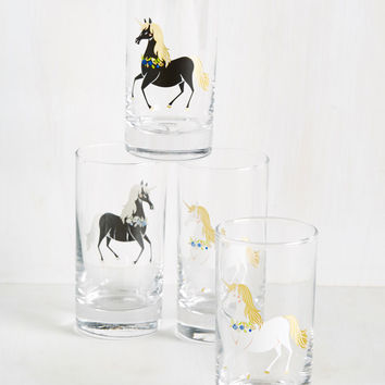 The Neighs Have It Glass Set | Mod Retro Vintage Kitchen | ModCloth.com
