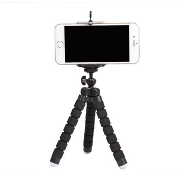 Mini portable flexible sponge octopus tripod bracket holder/tripod cell phone mount/octopus-tripod
