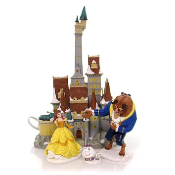 Department 56 House Beauty & The Beast St/4 Village Lighted Building