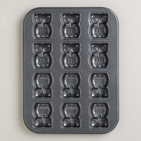 Nonstick Owl Cakelet Pan - World Market