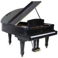 Ebonized Steinway and Sons Model A Grand Piano