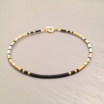 Gold Bridesmaid Bracelet Gold Bridesmaid Jewelry Gold filled Bracelet Maid of Honor Gift