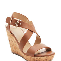 Baymist H Multi Strap Mid Cork Wedge