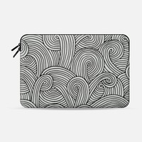 "Curls Macbook 12"" sleeve by M I C H I K O 