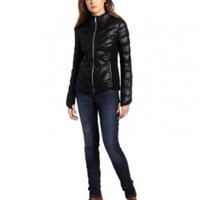 BCBGeneration Women's Reese Packable Down Jacket, Black, X-Small
