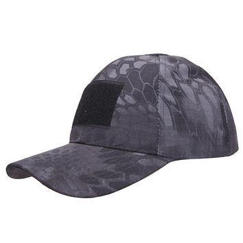 STYLEDOME Tactical Cap Army Military Hat with Adjustable Velcro