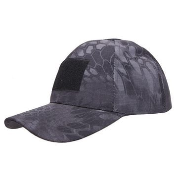 Tactical Cap Hat with Adjustable Velcro