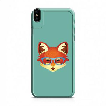 Fox With Glasses iPhone X case