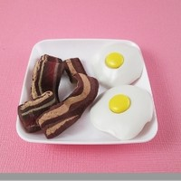 American Girl Doll Bacon & Eggs by Katie's Craftations