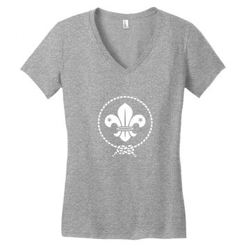 scout for you Women's V-Neck T-Shirt
