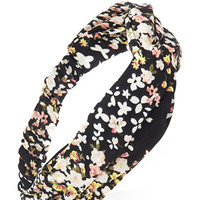 Ditsy Floral Twisted Headwrap
