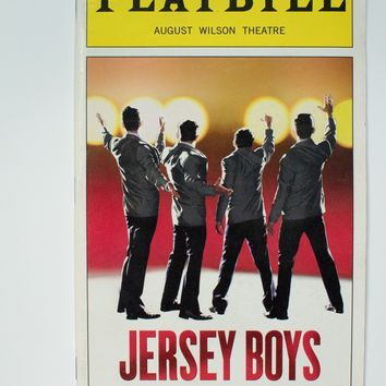 Jersey Boys Playbill