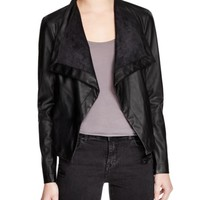 BB DAKOTA Arianna Faux Leather Jacket | Bloomingdales's
