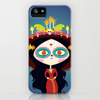 Catrina iPhone & iPod Case by Maria Jose Da Luz