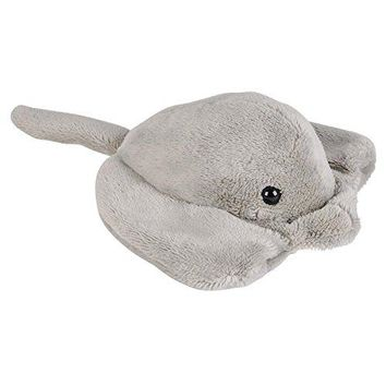 Wildlife Tree 3.5 Inch Sting Ray Mini Small Stuffed Animals Bulk Bundle of Ocean Animal Toys or Sea Party Favors for Kids Pack of 12