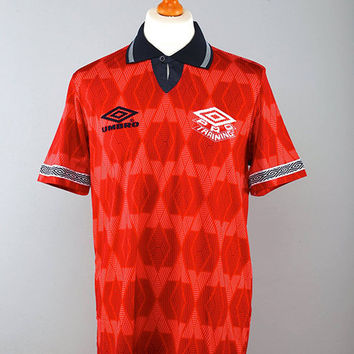 Umbro Pro Training 90s Away Football Jersey